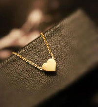 Load image into Gallery viewer, Cute Gold Heart shape Pendant Necklace - xikeoo