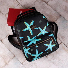 Load image into Gallery viewer, Starfish Printing Leisure Leather Backpacks For Big Sale!- xikeoo.com