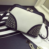 Rivet Summer Punk  Chain Shoulder Bag For Big Sale!- cutespree.com