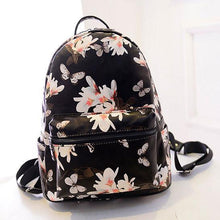 Load image into Gallery viewer, Unique Flower Printing Leather Backpacks For Big Sale!- xikeoo.com