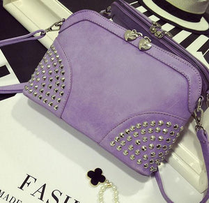 Rivet Summer Punk  Chain Shoulder Bag For Big Sale!- xikeoo.com