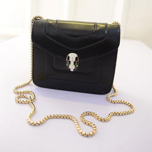 Classic Chain Snakeheads Fashion Shoulder Bag - xikeoo