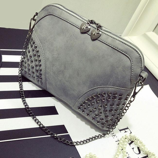 Rivet Summer Punk  Chain Shoulder Bag - xikeoo