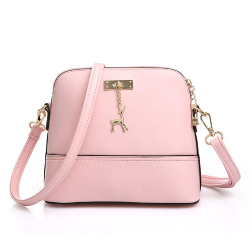 Cute Fawn Fashion Solid Multifunctional Shoulder Bags - xikeoo