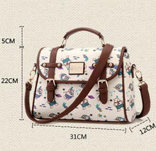 Load image into Gallery viewer, Pretty School Cartoon Print Shoulder Bag - xikeoo