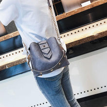 Load image into Gallery viewer, Leisure Chain Women Soft PU Single Buckle Handbag Shoulder Bag