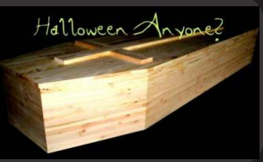 Halloween Coffin kit