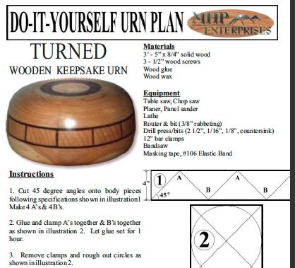The Faberge - Urn plan