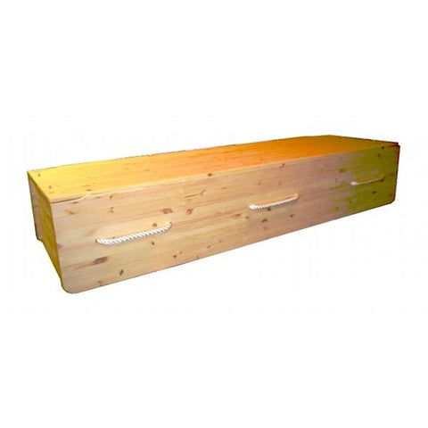Simple Pine Coffin Plan