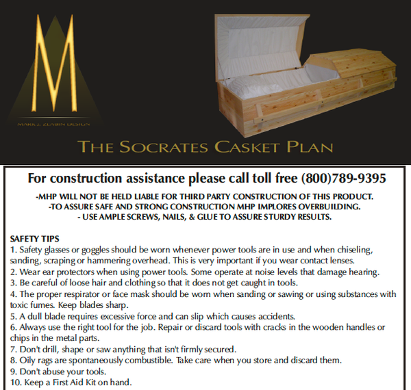 The Socrates - Casket Plan