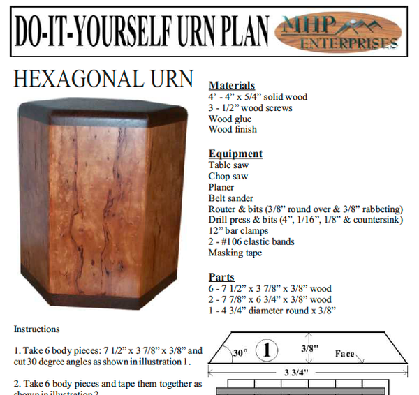 The Winslow - Urn Plan