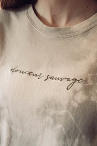 Tee-shirt Tie and Dye Douceur Sauvage