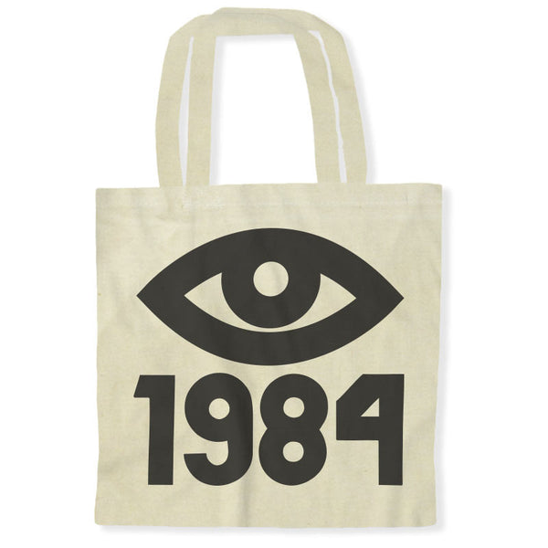 1984 George Orwell Big Brother Eye / Tote Bags