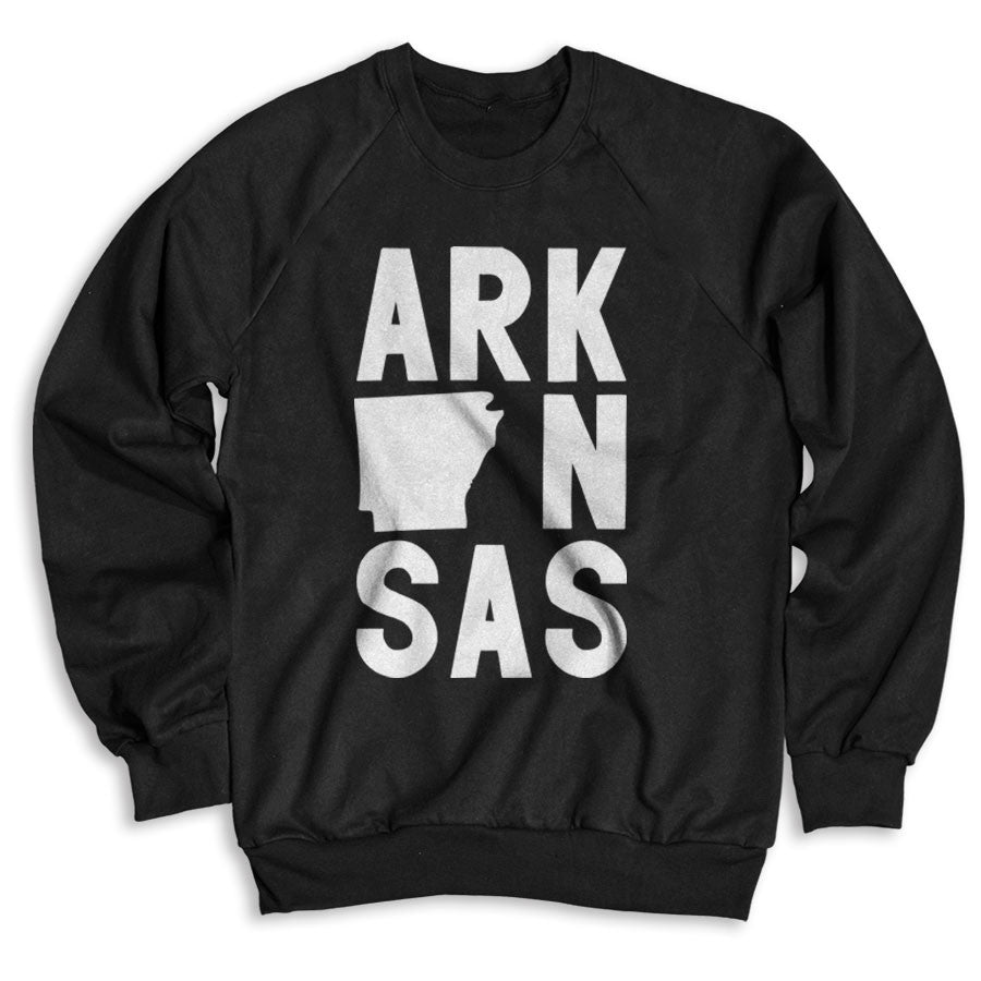 Arkansas / Unisex Crew Neck Sweatshirt