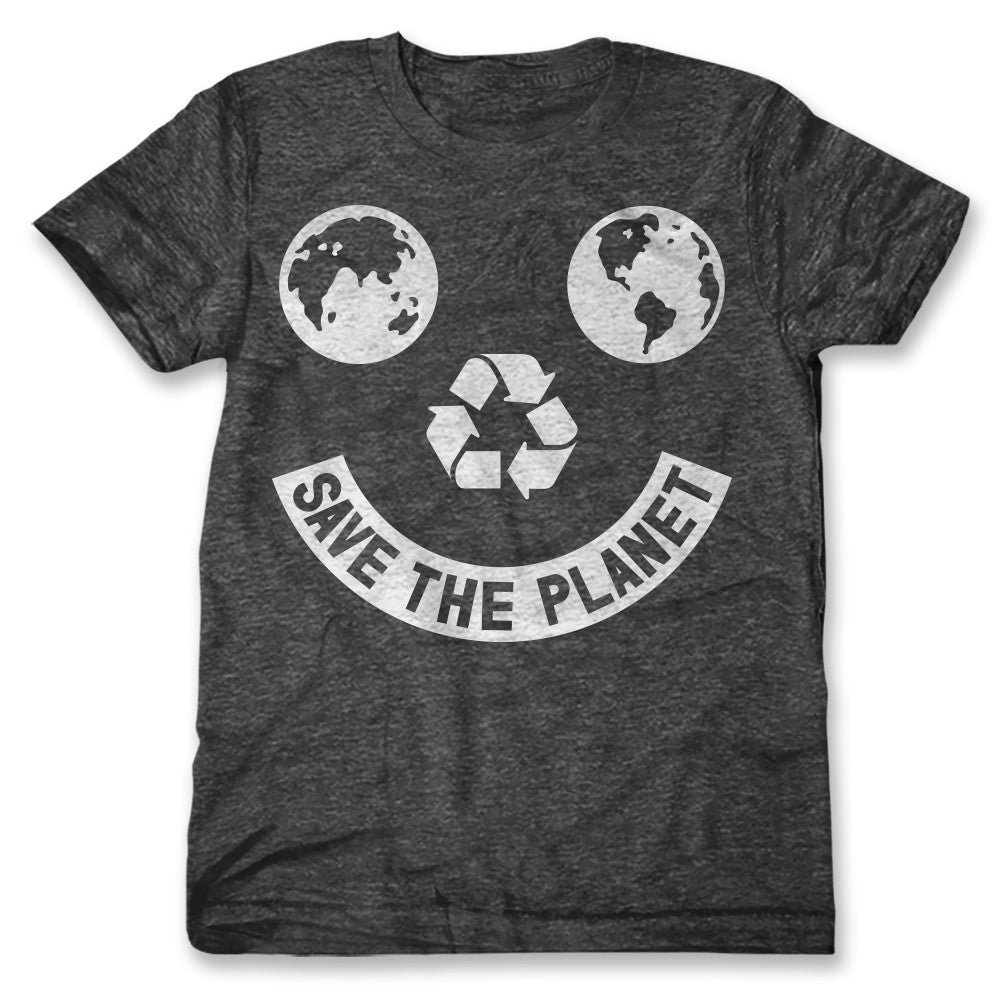 Save The Planet Smiley / Mens