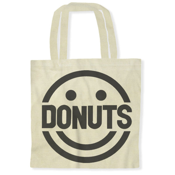 Donuts Make Me Smile / Tote Bags