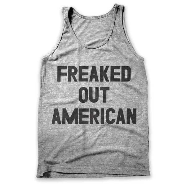 Freaked Out American / Mens Tank