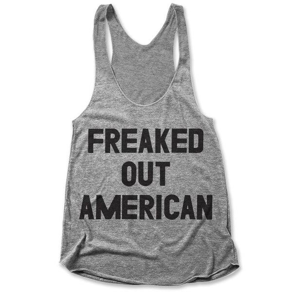 Freaked Out American / Womens Tank