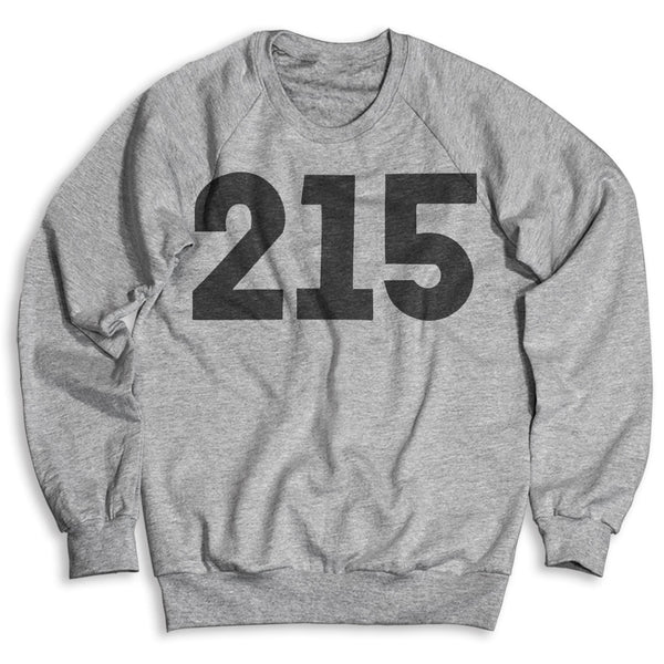 215 Philly / Unisex Crew Neck Sweatshirt