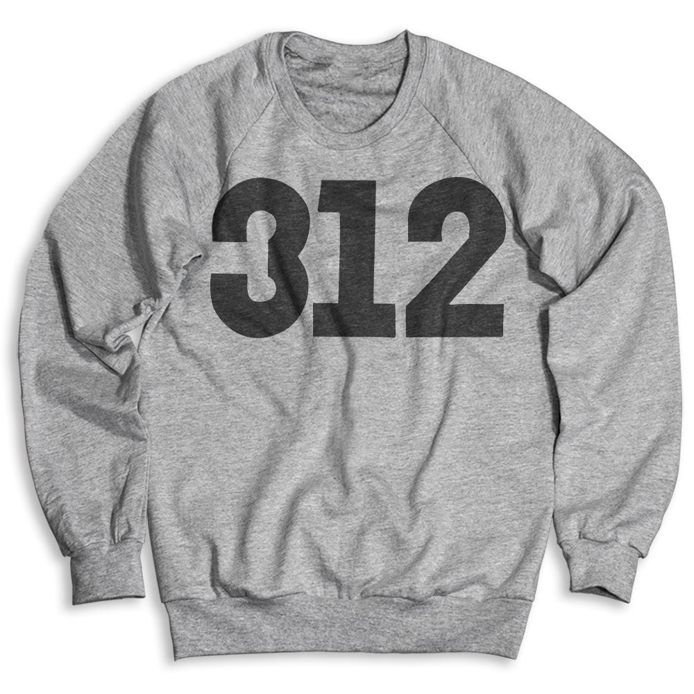 312 Chicago / Unisex Crew Neck Sweatshirt