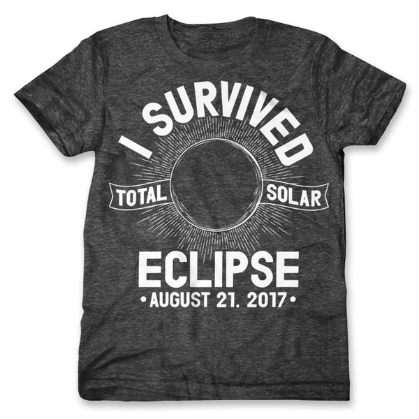 I Survived Total Solar Eclipse 2017 / Mens
