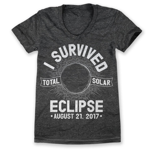 I Survived Total Solar Eclipse 2017 / Womens