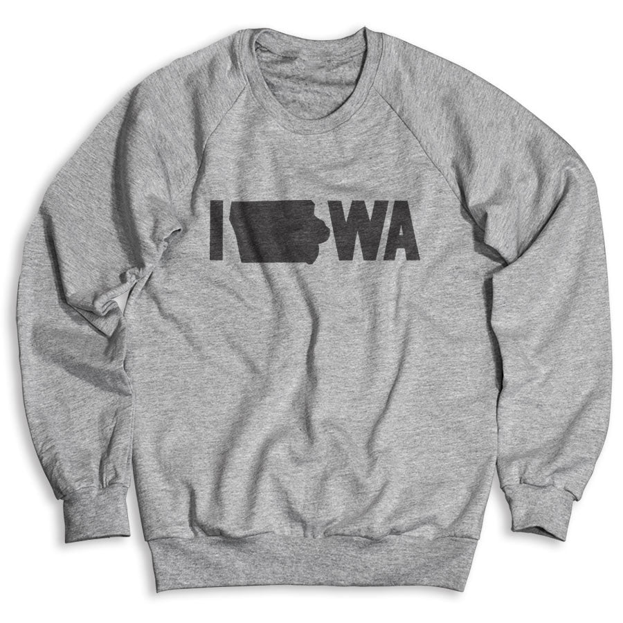 Iowa / Unisex Crew Neck Sweatshirt