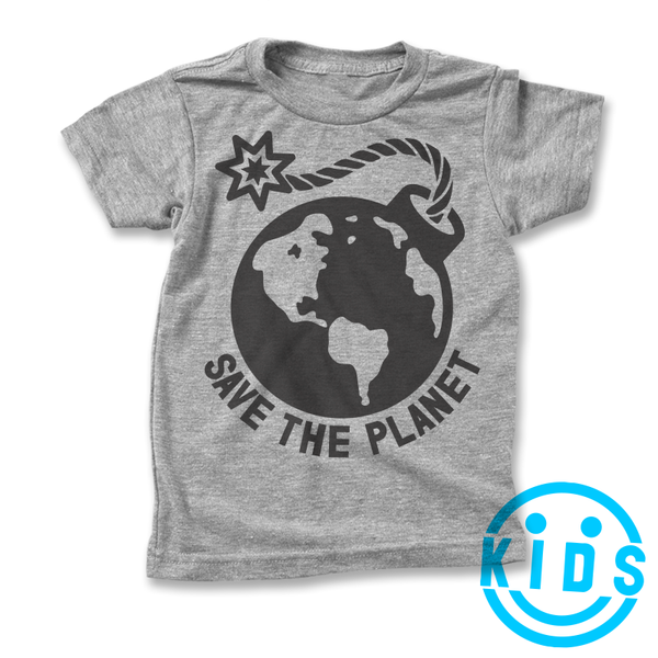 Save The Planet Earth Bomb / Kids