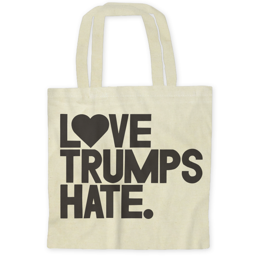 Love Trumps Hate / Tote Bags