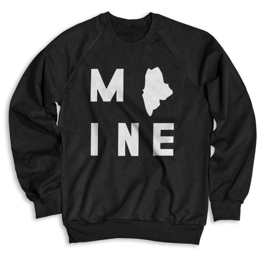 Maine / Unisex Crew Neck Sweatshirt