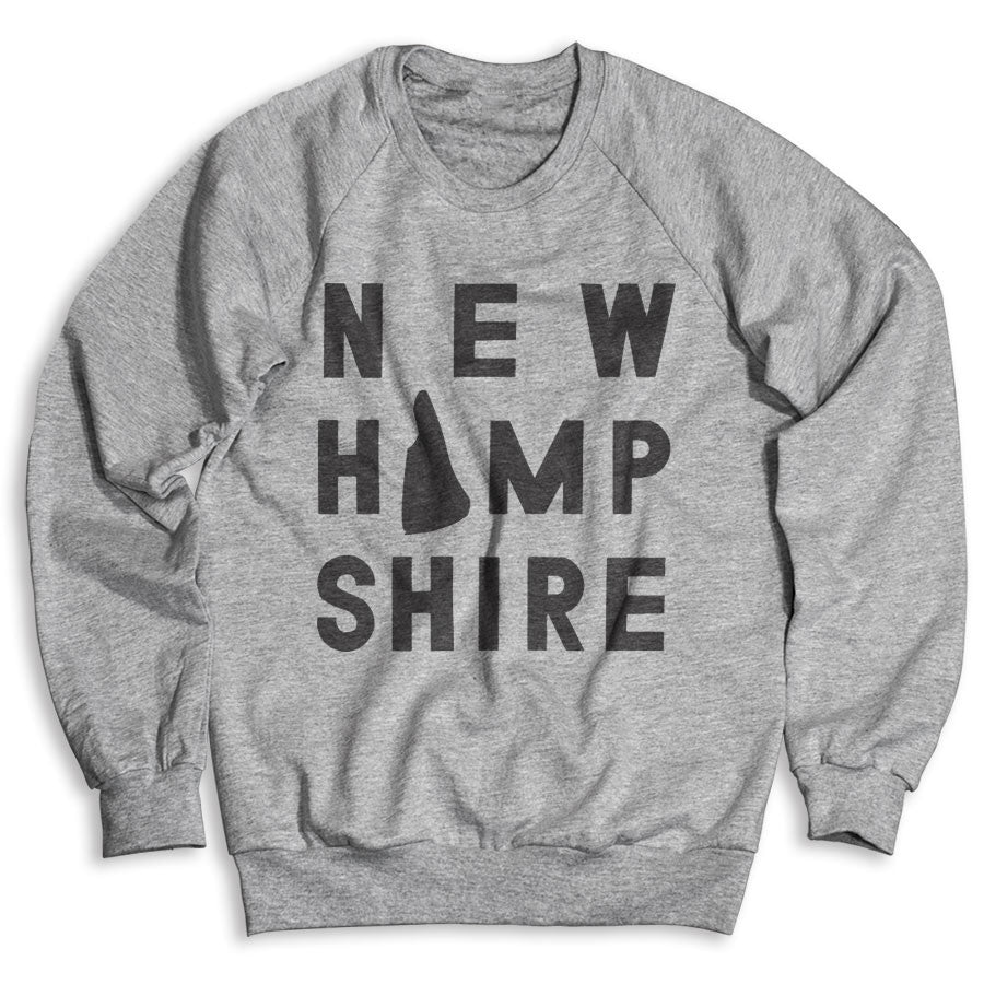 New Hampshire / Unisex Crew Neck Sweatshirt