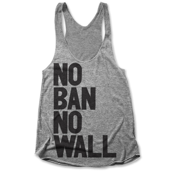 No Ban No Wall / Womens Tank
