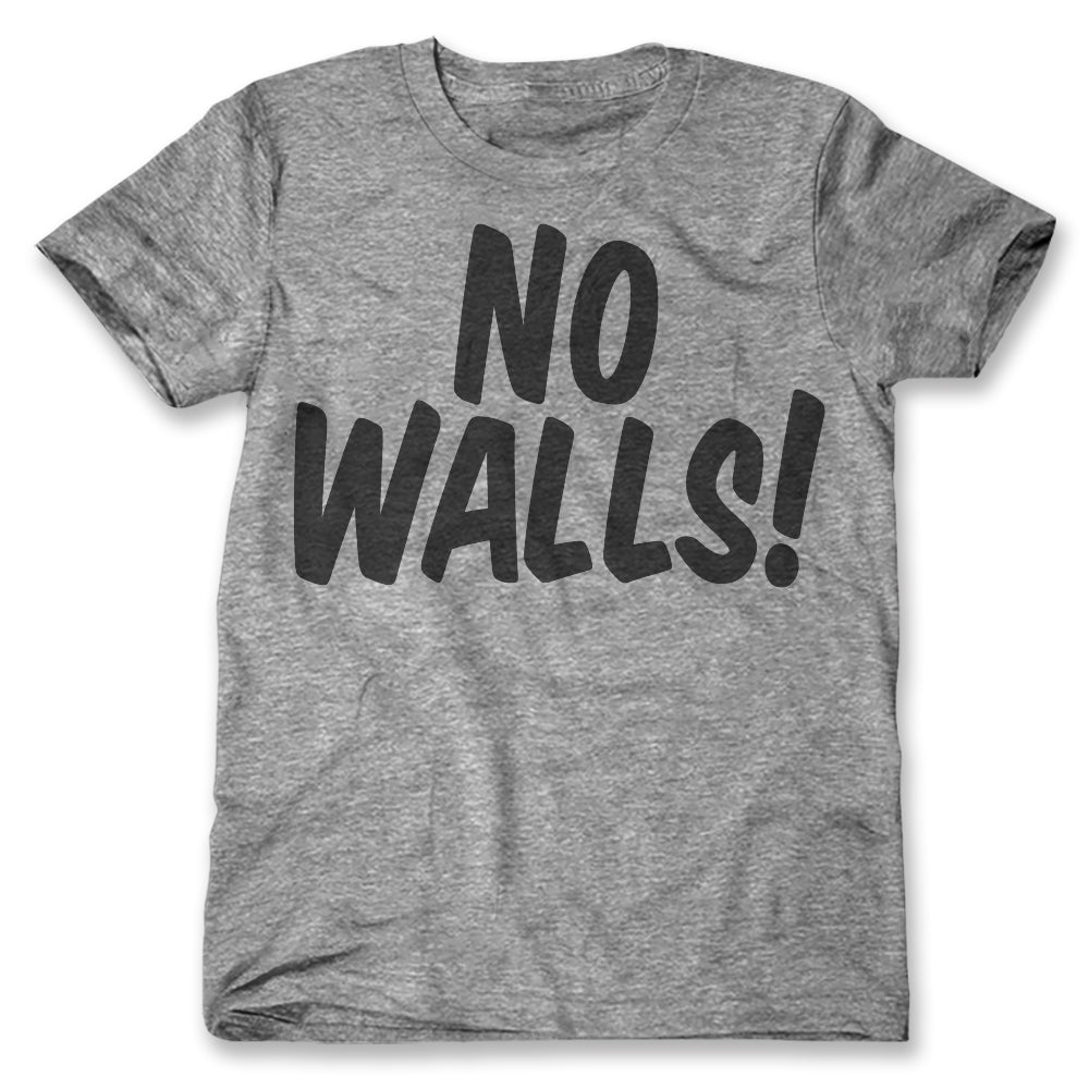 7643ea1b3cc No Walls! T-Shirts No Trump Wall T-Shirts – Print Liberation