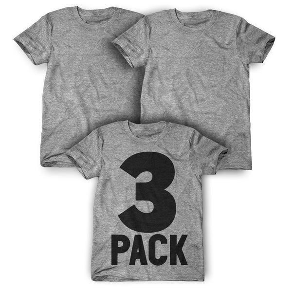 3 Pack: Personalized T-Shirts ( $29 each )