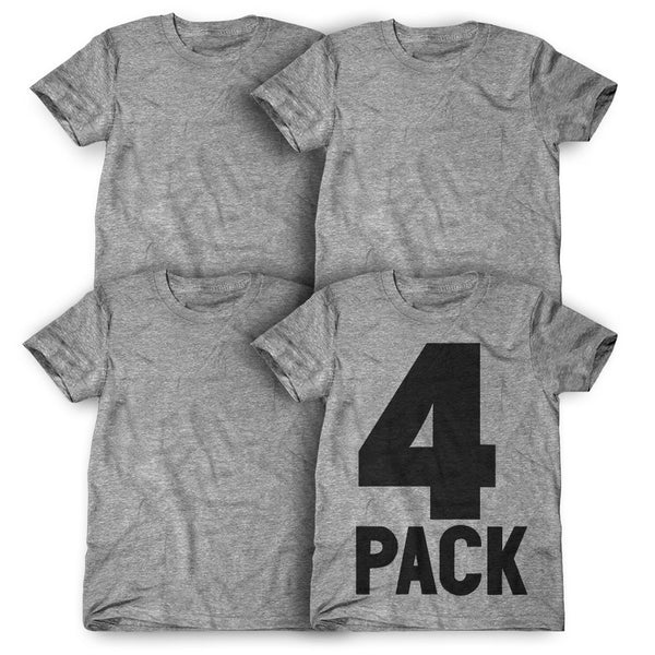 4 Pack: Personalized T-Shirts ( $25 each )