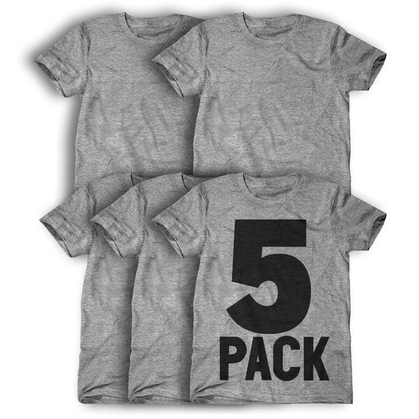 5 Pack: Personalized T-Shirts ( $24 each )