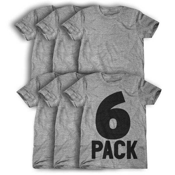 6 Pack: Personalized T-Shirts ( $23 each )