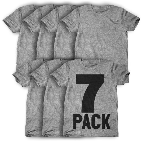 7 Pack: Personalized T-Shirts ( $22 each )