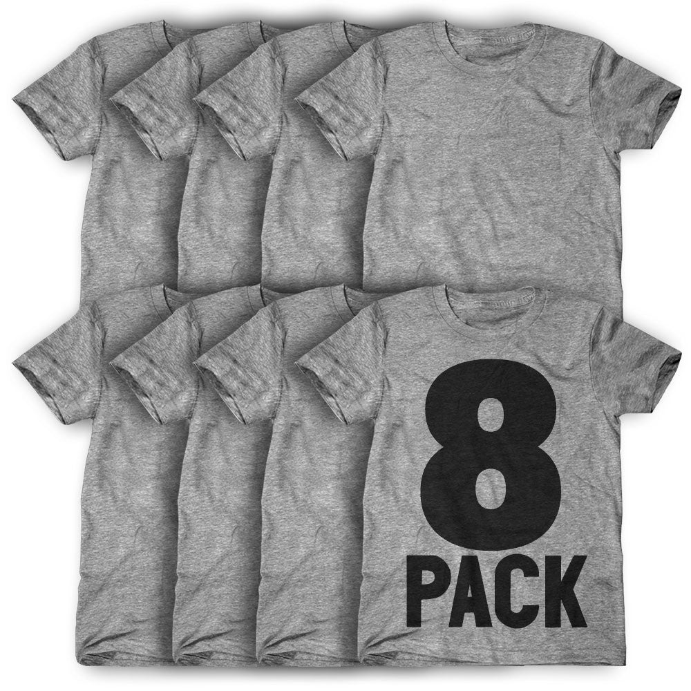 8 Pack: Personalized T-Shirts ( $21 each )