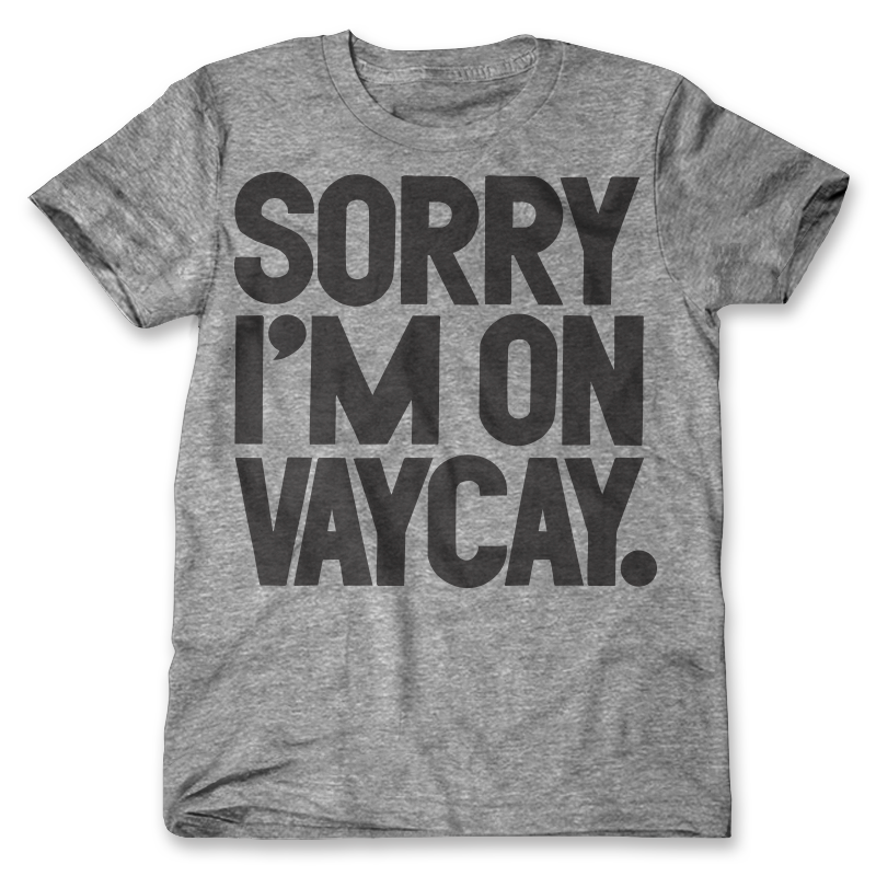 The Vaycay Tee