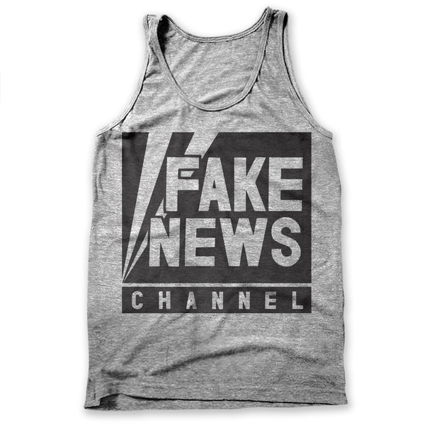Fake News Channel / Mens Tank