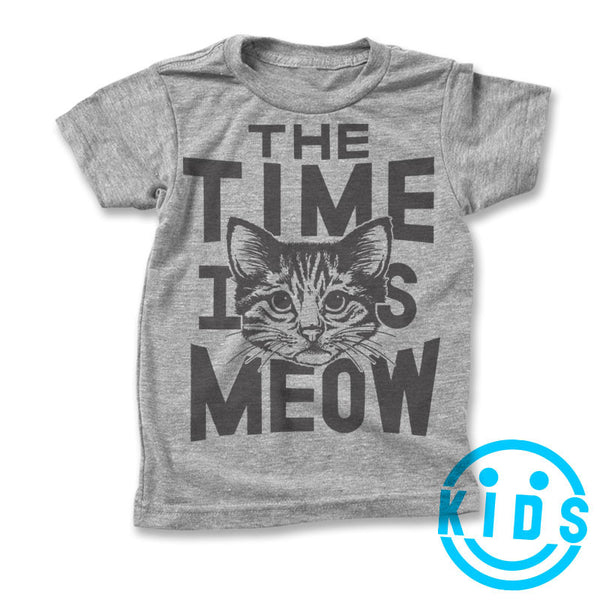 Kids / The Time is Meow