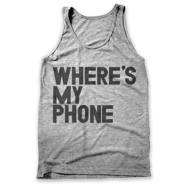 Where's My Phone / Mens Tank