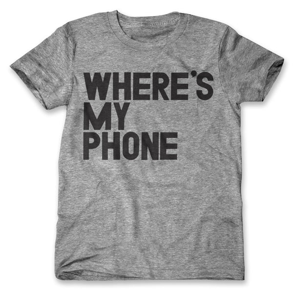 Where's My Phone / Mens