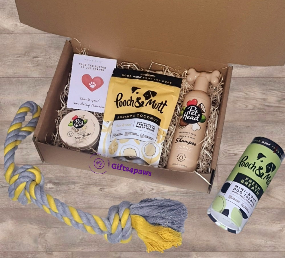 Personalised Luxury Dog Pamper Hamper - Gifts4paws