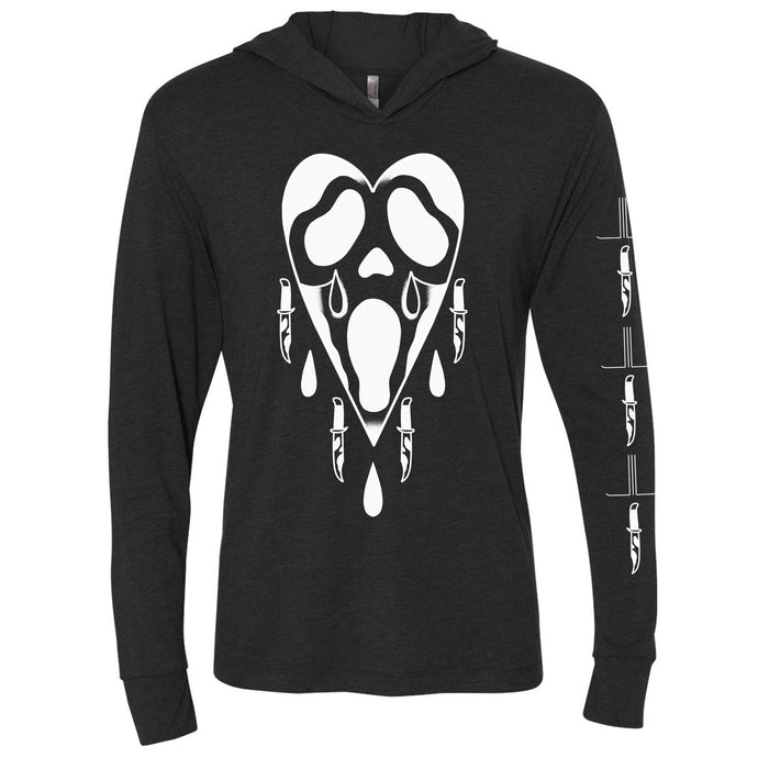 Stab & Cry Your Heart Out Slim Hoodie - Last Light Apparel