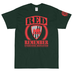 "Unisex ""RED Logo: Remember Everyone Deployed"" Premium T"