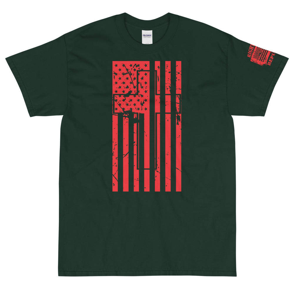 "Unisex ""USA Cross"" Premium T"