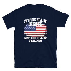 "Men's ""Bill of Rights"" Blue T"