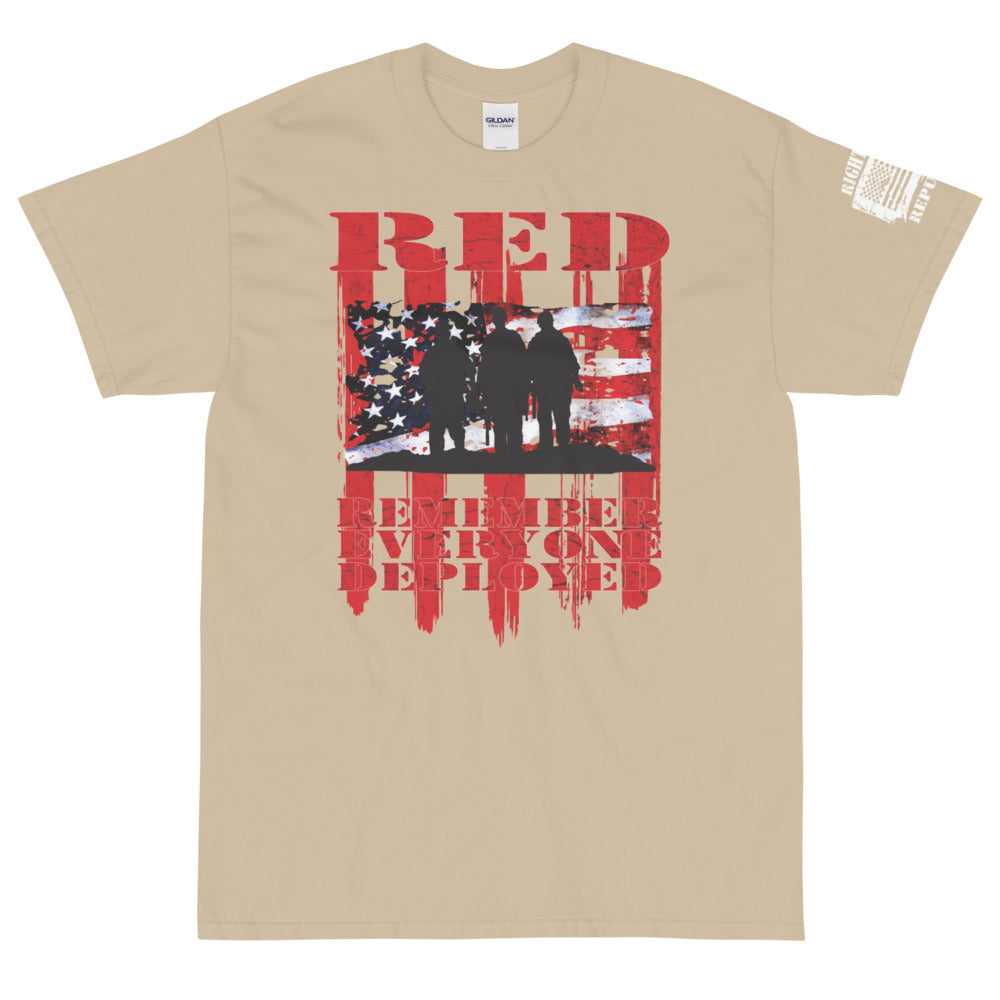 "Unisex ""RED: Remember Everyone Deployed"" Premium T"